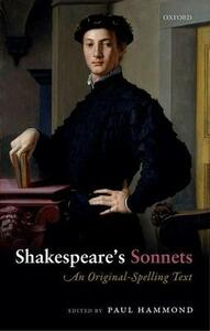 Shakespeare's Sonnets: An Original-Spelling Text - cover