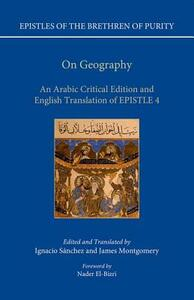 On Geography: An Arabic Edition and English Translation of Epistle 4 - Ignacio Sanchez,James Montgomery - cover