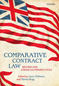 Comparative Contract Law: British and American Perspectives - cover