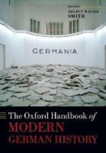 The Oxford Handbook of Modern German History - cover
