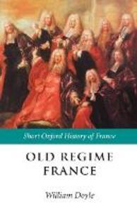 Old Regime France 1648-1788 - cover