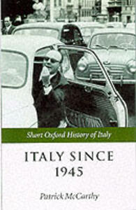 Italy Since 1945 - cover