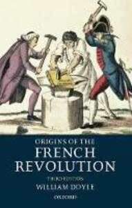 Origins of the French Revolution - William Doyle - cover