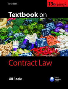 Textbook on Contract Law - Jill Poole - cover