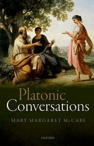 Platonic Conversations - Mary Margaret McCabe - cover