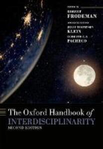 The Oxford Handbook of Interdisciplinarity - cover