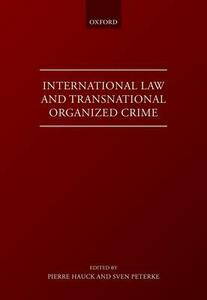 International Law and Transnational Organised Crime - cover
