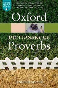 Oxford Dictionary of Proverbs - cover