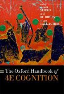 The Oxford Handbook of 4E Cognition - cover