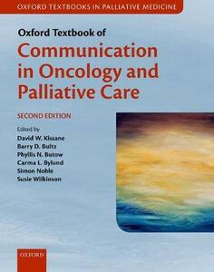 Oxford Textbook of Communication in Oncology and Palliative Care - cover