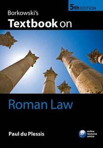 Borkowski's Textbook on Roman Law - Paul du Plessis - cover