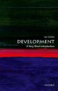 Development: A Very Short Introduction - Ian Goldin - cover