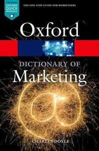 A Dictionary of Marketing - Charles Doyle - cover