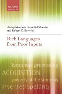 Rich Languages From Poor Inputs - cover