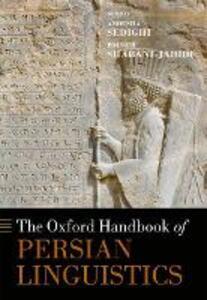 The Oxford Handbook of Persian Linguistics - cover