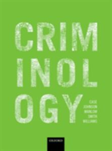 Criminology - Steve Case,Phil Johnson,David Manlow - cover