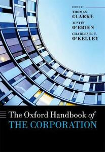The Oxford Handbook of the Corporation - cover