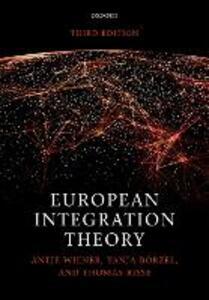 European Integration Theory - Antje Wiener,Tanja A. Boerzel,Thomas Risse - cover