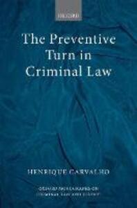 The Preventive Turn in Criminal Law - Henrique Carvalho - cover