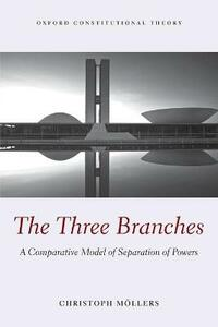 The Three Branches: A Comparative Model of Separation of Powers - Christoph Moellers - cover
