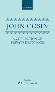 A Collection of Private Devotions - John Cosin - cover