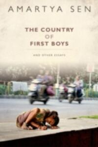 The Country of First Boys: And Other Essays - Amartya Sen - cover