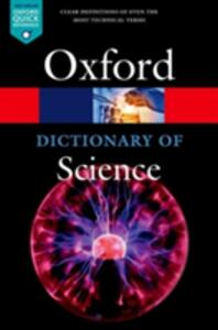 A Dictionary of Science - cover
