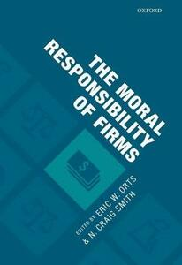 The Moral Responsibility of Firms - cover