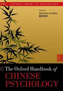Oxford Handbook of Chinese Psychology - cover