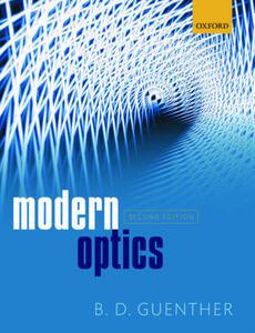 Modern Optics - Bob D. Guenther - cover