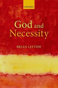 God and Necessity - Brian Leftow - cover