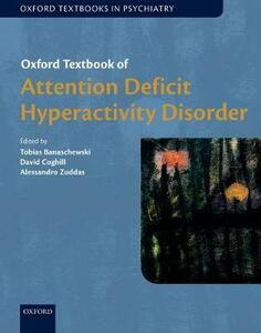 Oxford Textbook of Attention Deficit Hyperactivity Disorder - cover