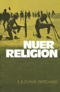 Nuer Religion - Edward E. Evans-Pritchard - cover