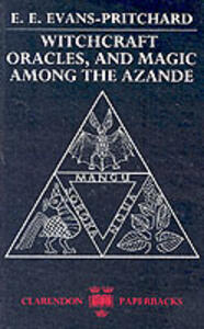 Witchcraft, Oracles and Magic among the Azande - E. E. Evans-Pritchard - cover