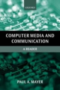 Computer Media and Communication: A Reader - cover