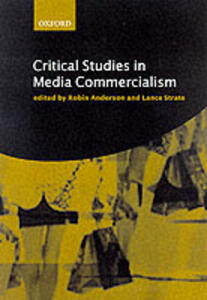 Critical Studies in Media Commercialism - cover