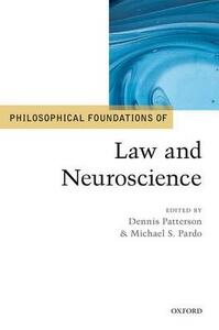 Philosophical Foundations of Law and Neuroscience - cover