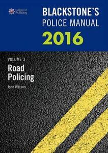 Blackstone's Police Manual - John Watson - cover