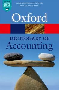 A Dictionary of Accounting - cover