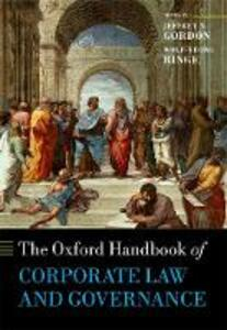 The Oxford Handbook of Corporate Law and Governance - cover