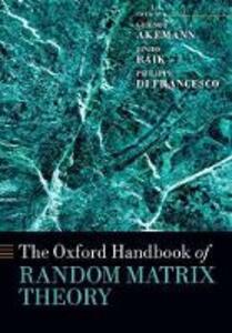The Oxford Handbook of Random Matrix Theory - cover