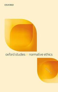 Oxford Studies in Normative Ethics, Volume 5 - cover
