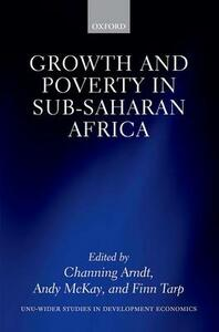 Growth and Poverty in Sub-Saharan Africa - cover