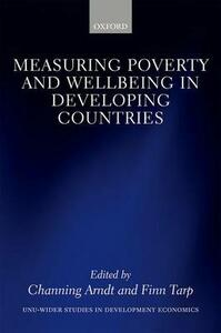 Measuring Poverty and Wellbeing in Developing Countries - cover
