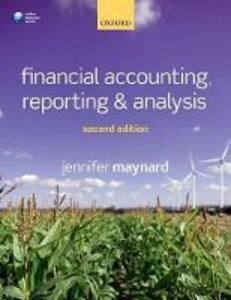 Financial Accounting, Reporting, and Analysis - Jennifer Maynard - cover