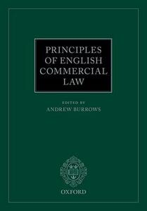 Principles of English Commercial Law - cover