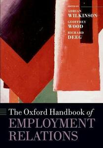 The Oxford Handbook of Employment Relations - cover