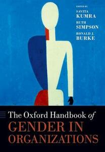 The Oxford Handbook of Gender in Organizations - cover