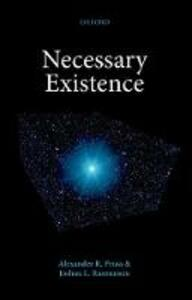 Necessary Existence - Alexander R. Pruss,Joshua L. Rasmussen - cover