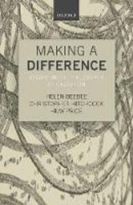 Making a Difference: Essays on the Philosophy of Causation - cover